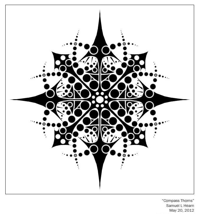 Compass Thorns by Ziddius