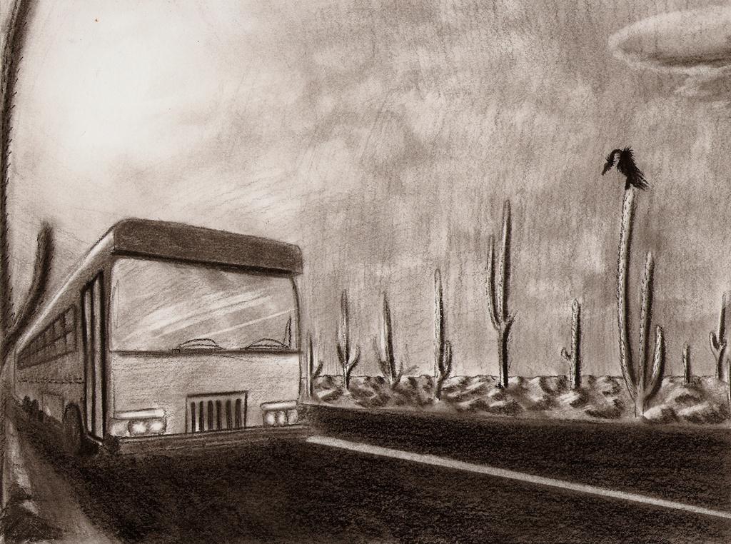 Desert Bus by Ziddius