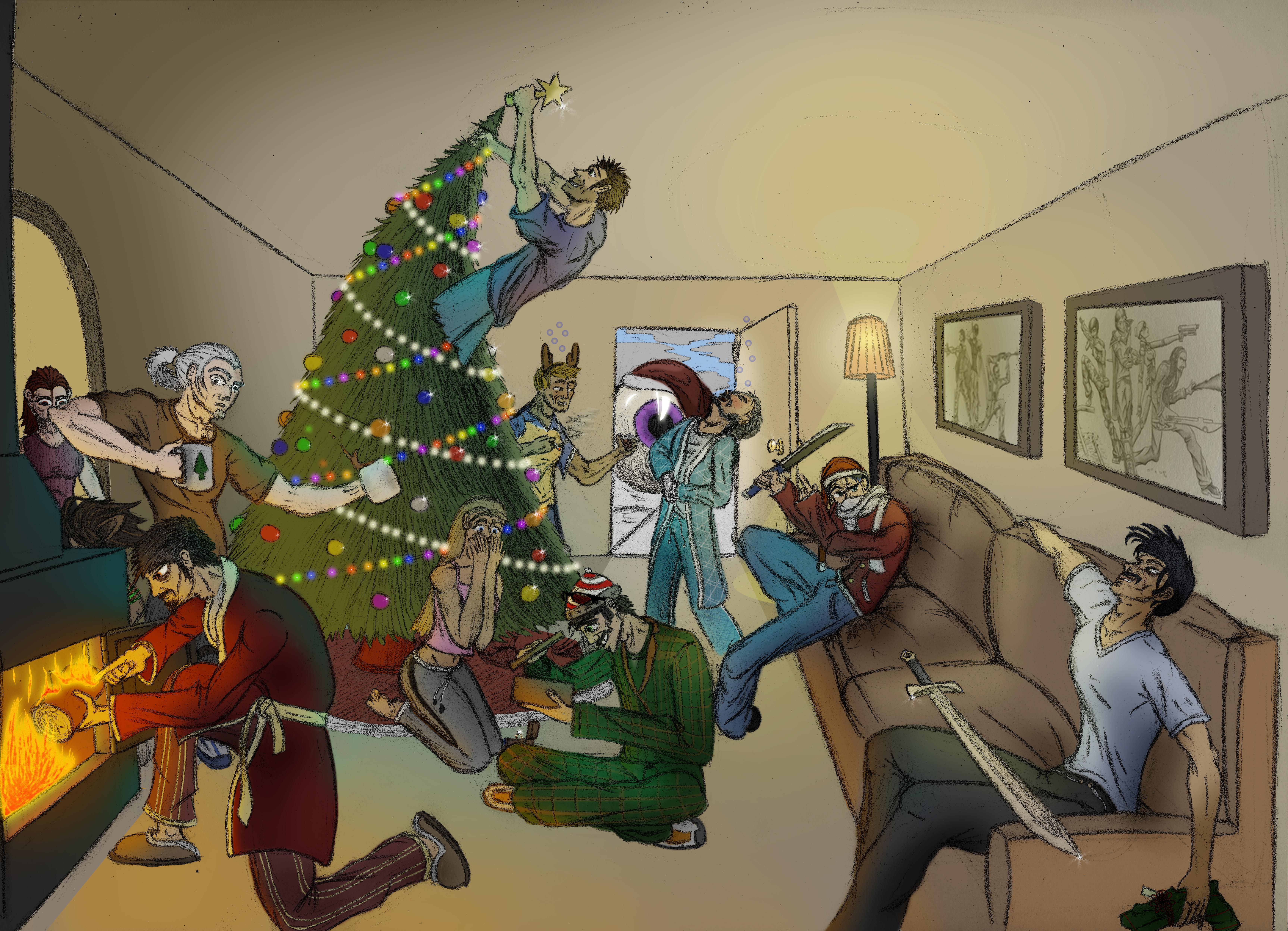 Merry Christmas by Ziddius