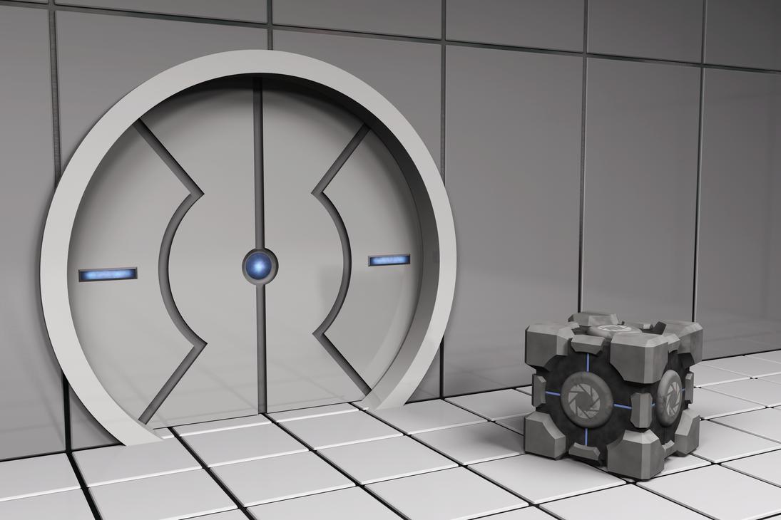 Portal Door - Redone by KazeToMizuNoOkami ... & Portal Door - Redone by KazeToMizuNoOkami on DeviantArt
