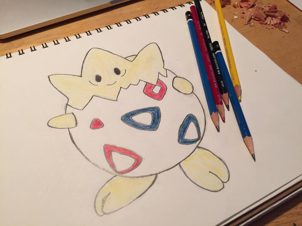 Togepi Sketch by KazeToMizuNoOkami