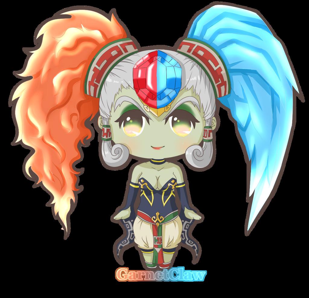 Twinrova Chibi! by SeraphicSky