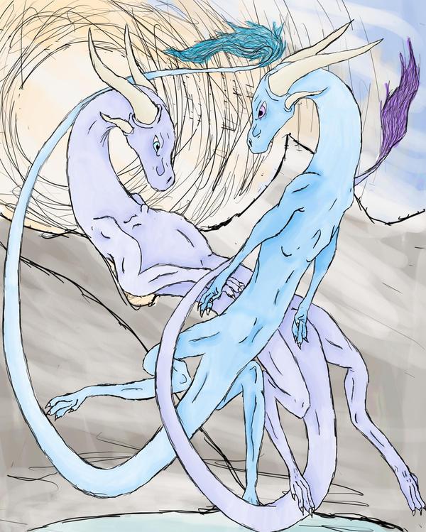 Never-ending Love by dragonfreako