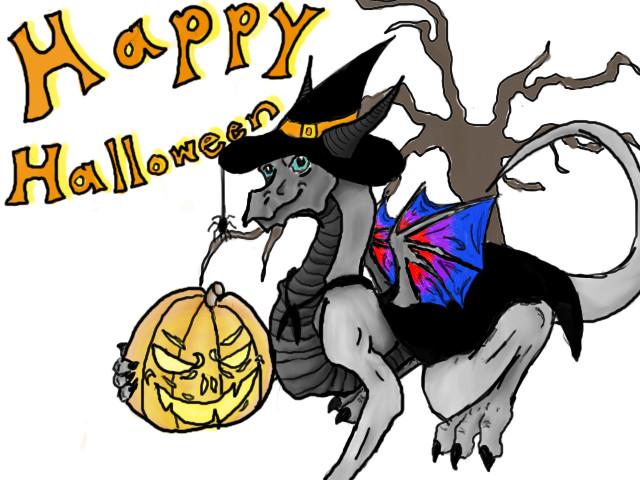 Happy Halloween by dragonfreako