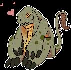 Monster Buddy by dragonfreako