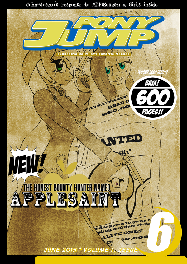 Pony Jump Vol 1, Issue 6 by Septic-Art