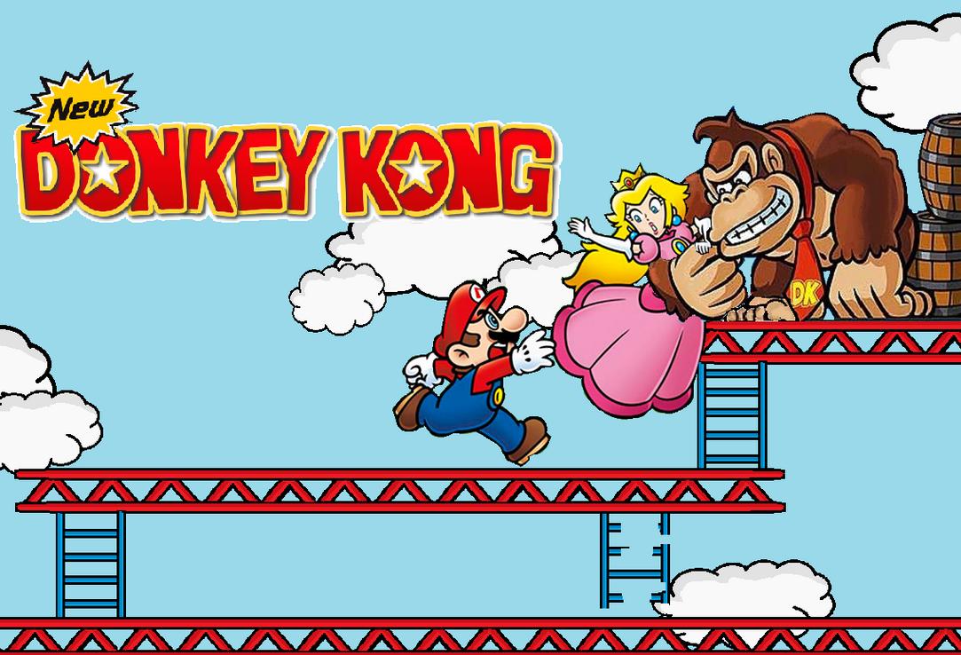 New Donkey Kong by WesleyAbram on DeviantArt
