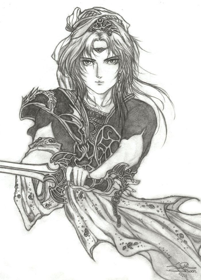 Heroic Legend of Arislan by icejade