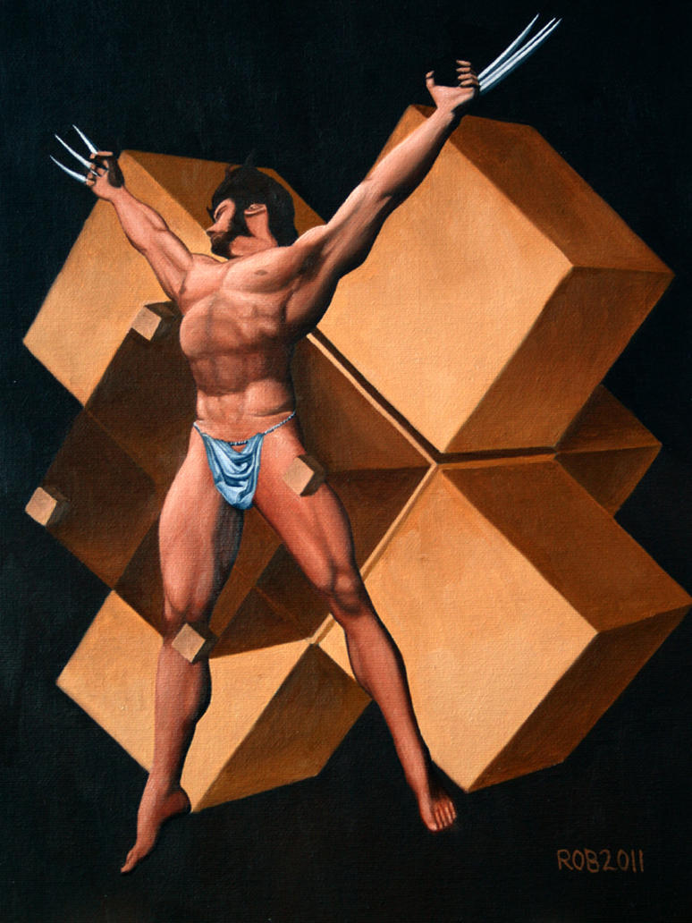 Wolverine inspired by Dali by robpitts1969