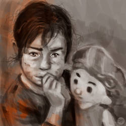 Syrian Child Refugee by abimanyudju