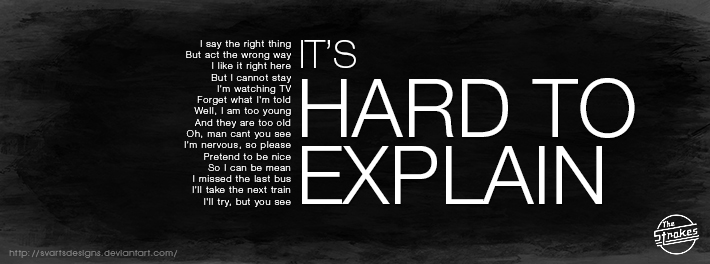 The strokes hard to explain by svartsdesigns on deviantart the strokes hard to explain by svartsdesigns altavistaventures Images