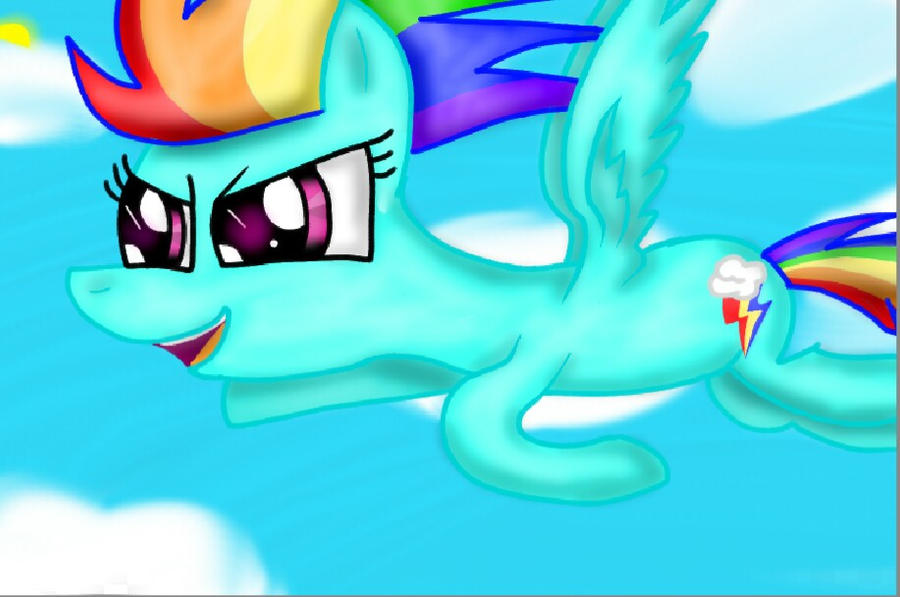 Rainbow Dash.  Best Pony :D by SuhaiCo