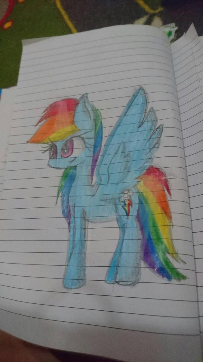 Rainbow dashiiee by SuhaiCo