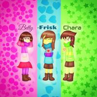 Glitchtale kids by SuhaiCo