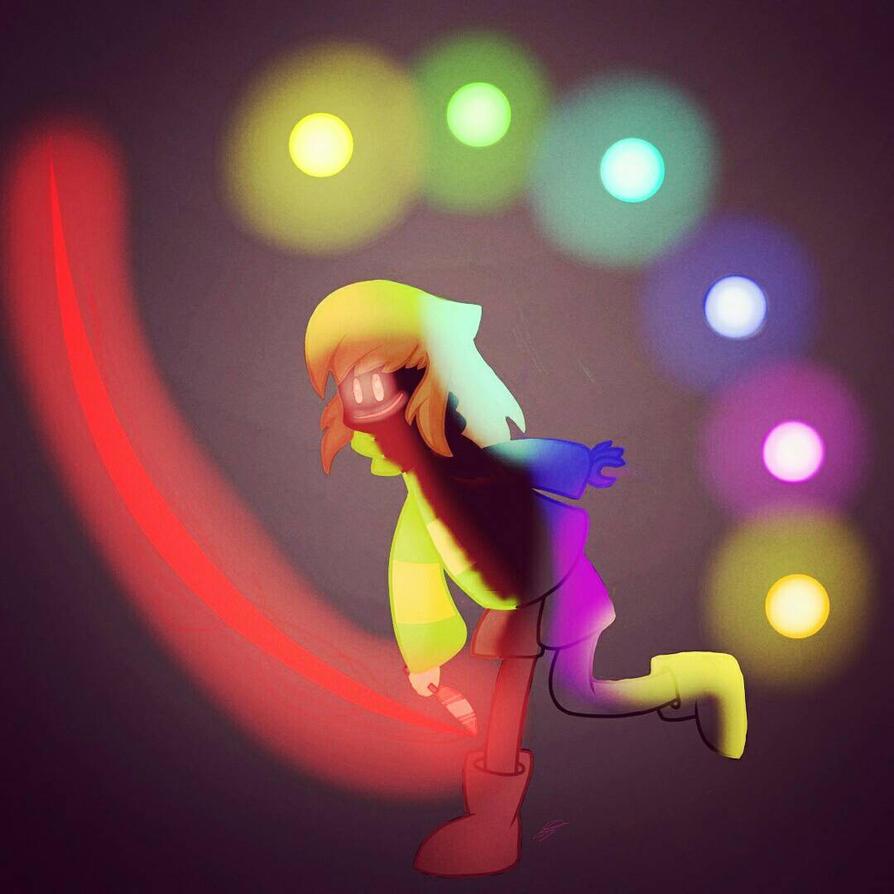 Chara - Glitchtale by SuhaiCo