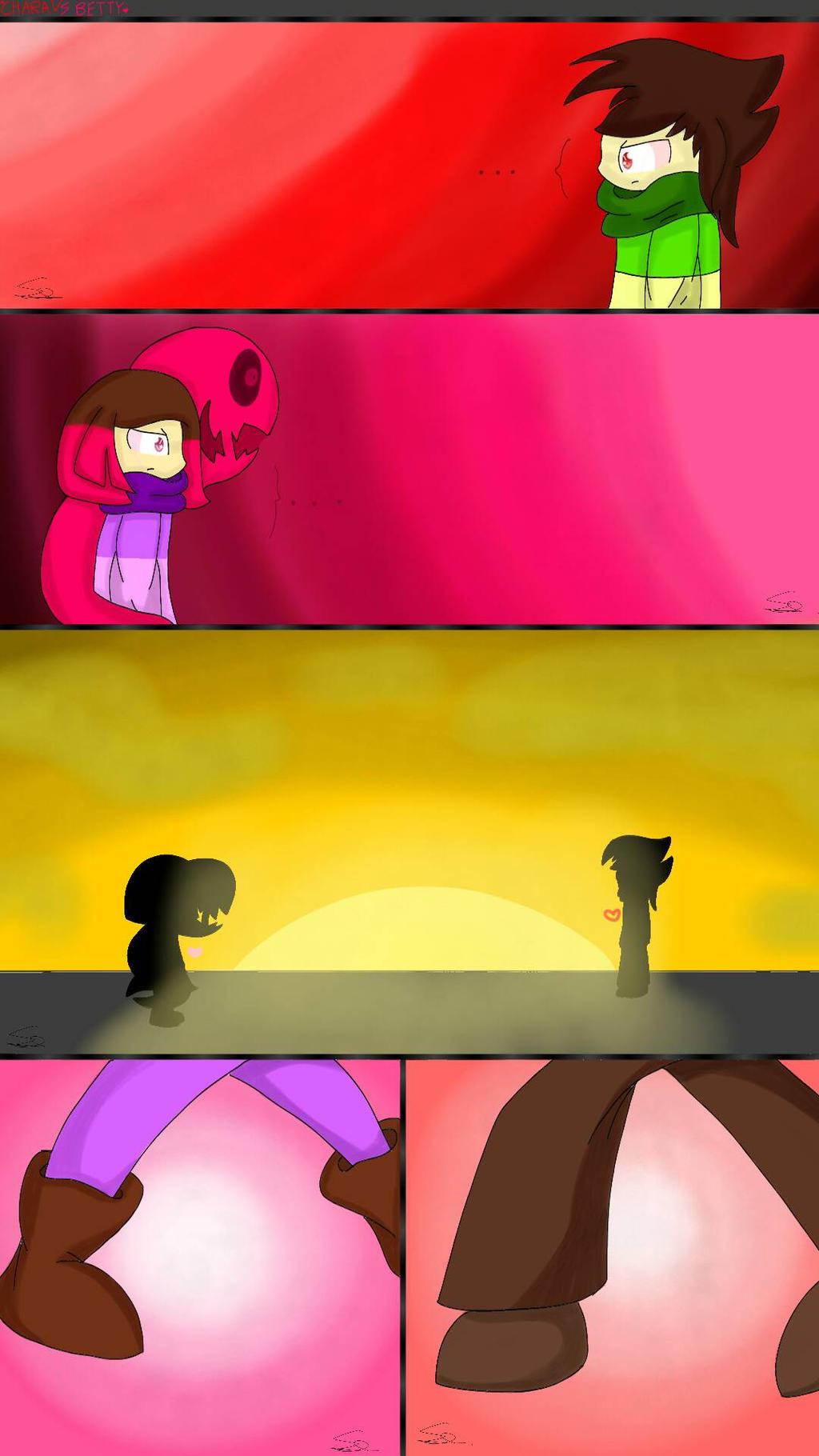 Chara vs Betty pt.1 by SuhaiCo