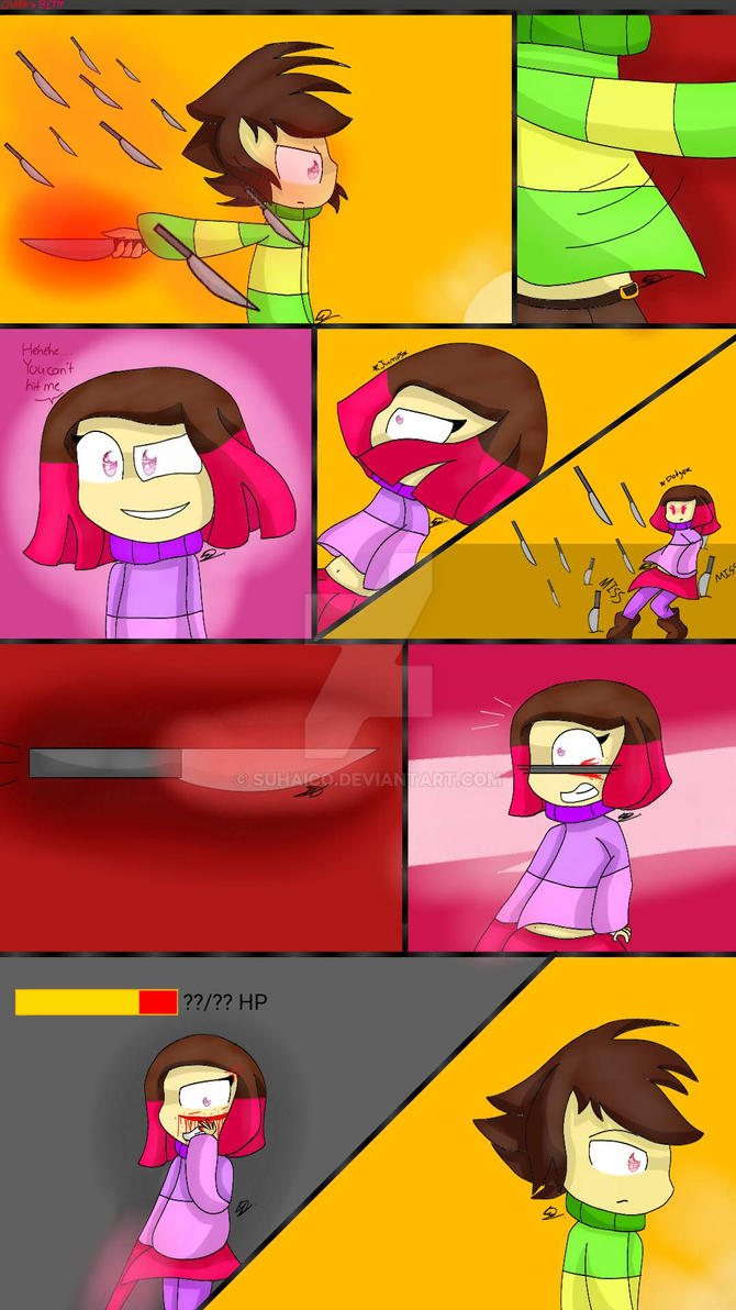 Chara vs Betty pt.3 by SuhaiCo