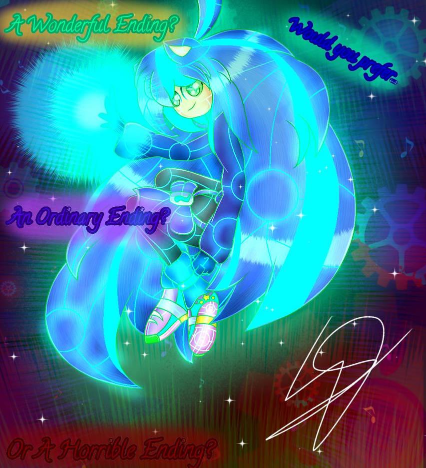 OC: Future Nebula - Choose Your Ending. by SuhaiCo