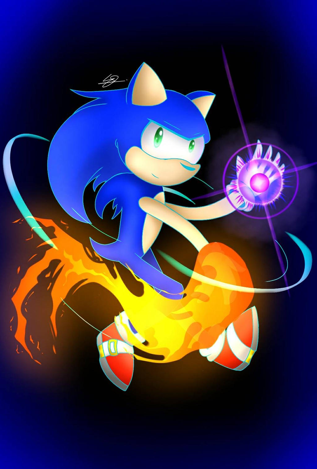 Sonic: Fire and Darkness by SuhaiCo