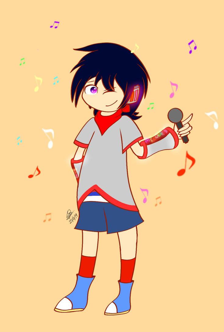 Vocaloid!Ninten by SuhaiCo