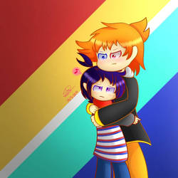 Clausten: Hugging by SuhaiCo