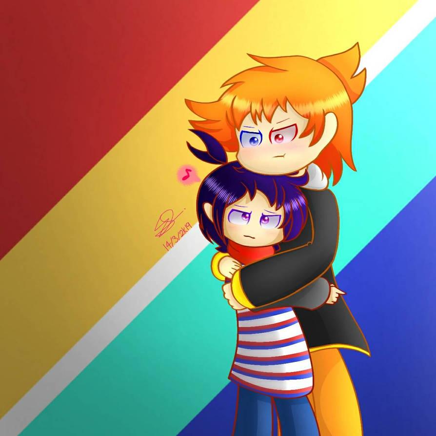 Clausten: Hugging by SuhaiCo