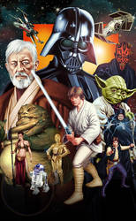STAR WARS by thesilvabrothers