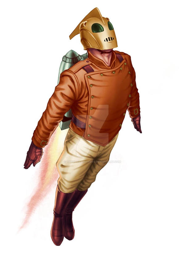 rocketeer01B by thesilvabrothers