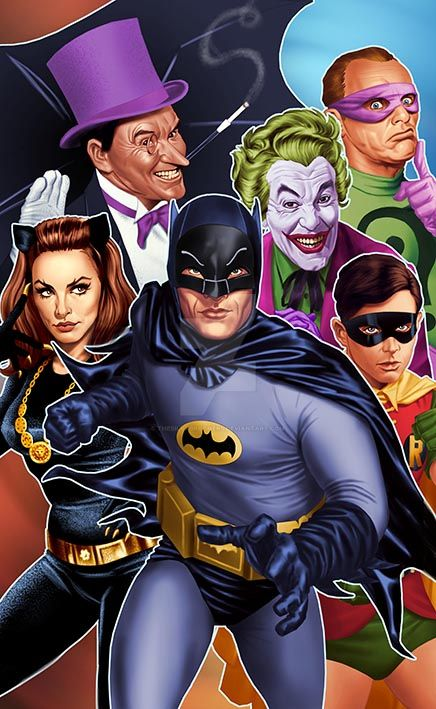 BATMAN 66 by thesilvabrothers