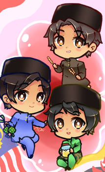 The Malay Trio