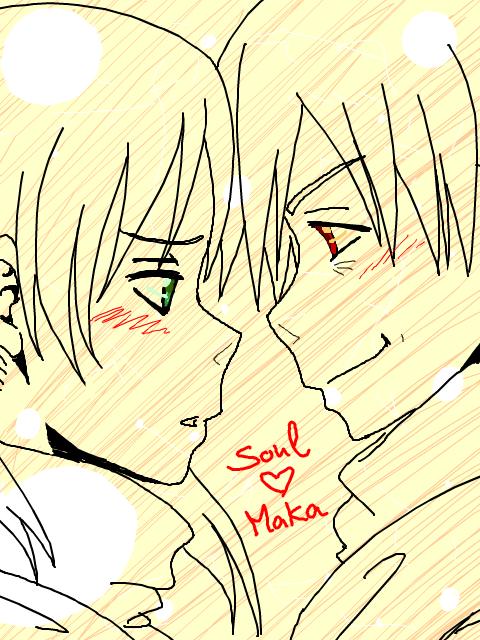 Soul Eater - SxM Tegaki 001 by SweetJanie