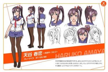 Haruko Amaya Maken Ki by JAZZ97