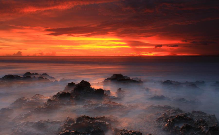Best Sunset in Ranca Buaya by buridx