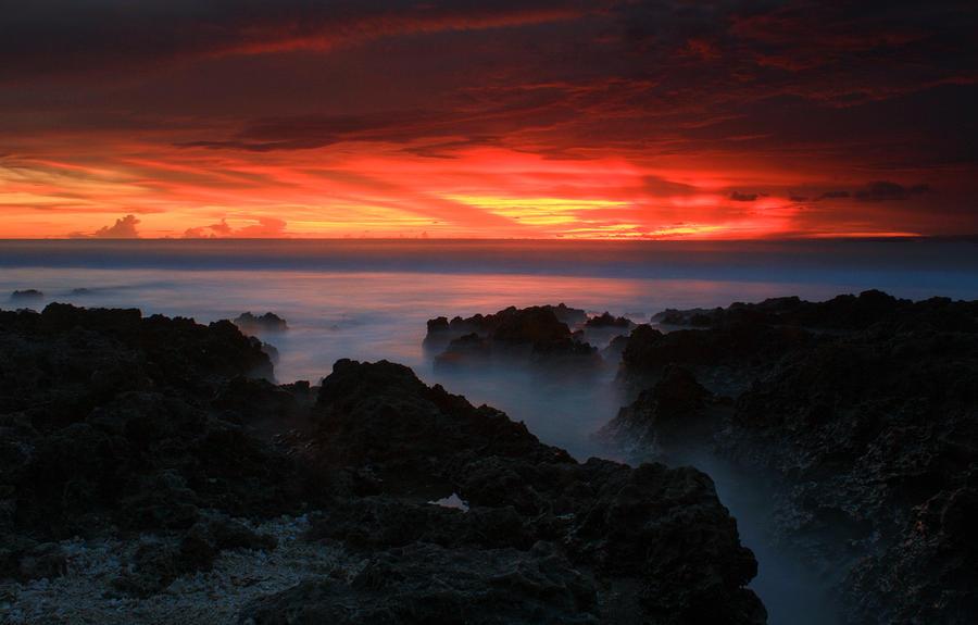 Sunset Mist by buridx