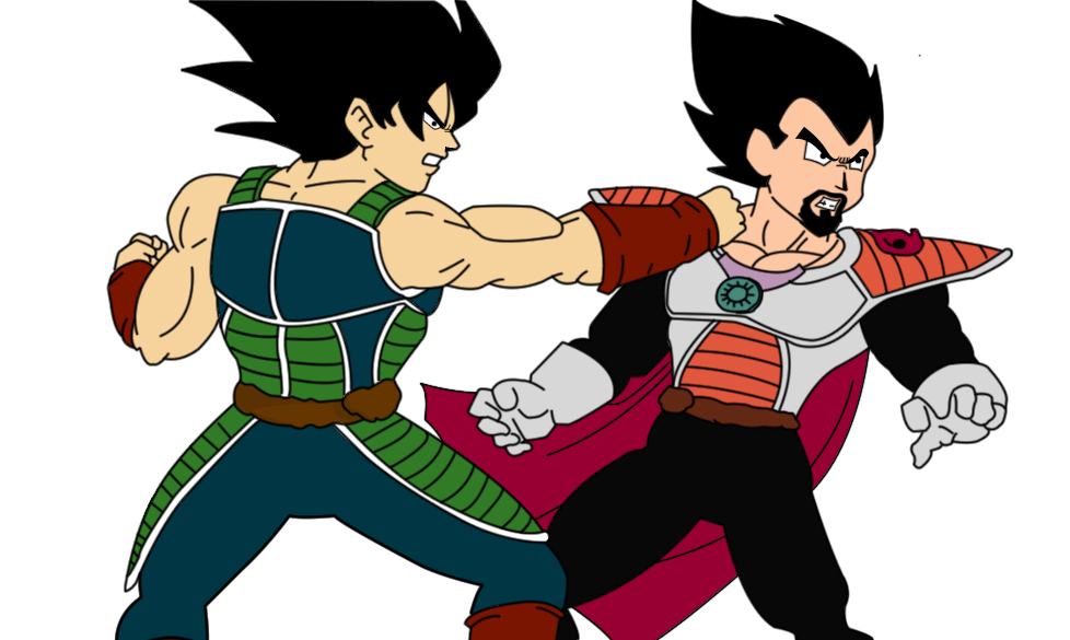 Bardock vs King Vegeta by PrinceDamian on DeviantArt