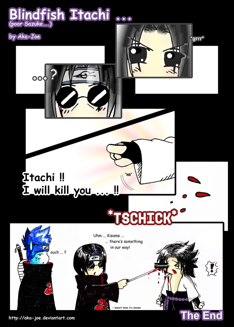 Blindfish Itachi by Aka-Joe