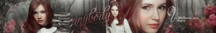 Is anybody out there?    Banner by gotasecret-xx