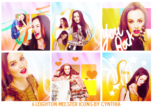 Leighton Meester    Icons by gotasecret-xx
