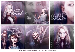 Jennifer Lawrence    Icons by gotasecret-xx