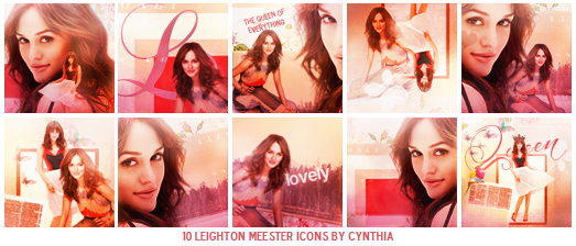 Leighton Queen of Everything    Icons by gotasecret-xx