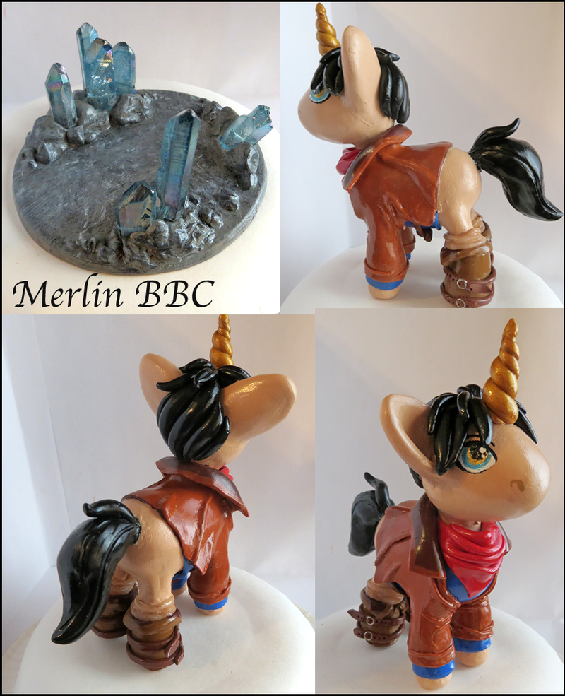 Merlin Pony (For Sale) by balletvamp
