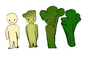 kids this is what happen wen u eat to many vegetal by salaxia