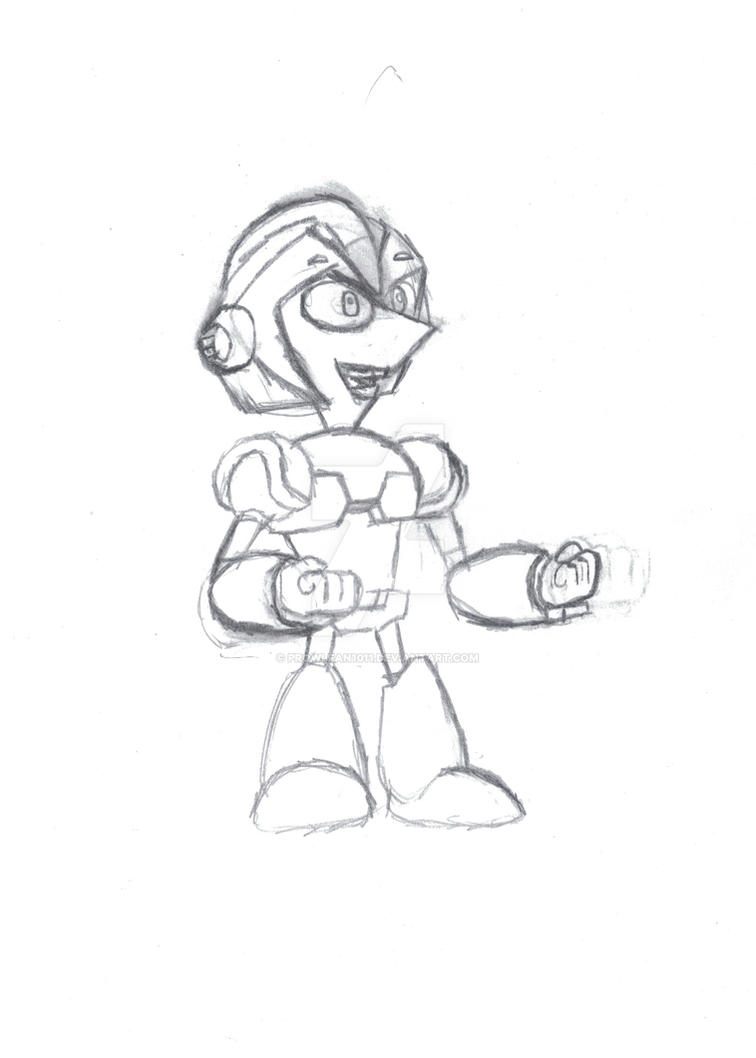 PNFXMegaman crossover - Phineas as Megaman X by Prowlfan1011
