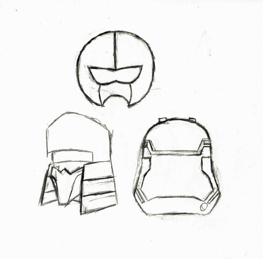 The Reality Rangers - Villain helmets by Prowlfan1011
