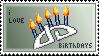 dA Birthdays Stamp by k-d-t