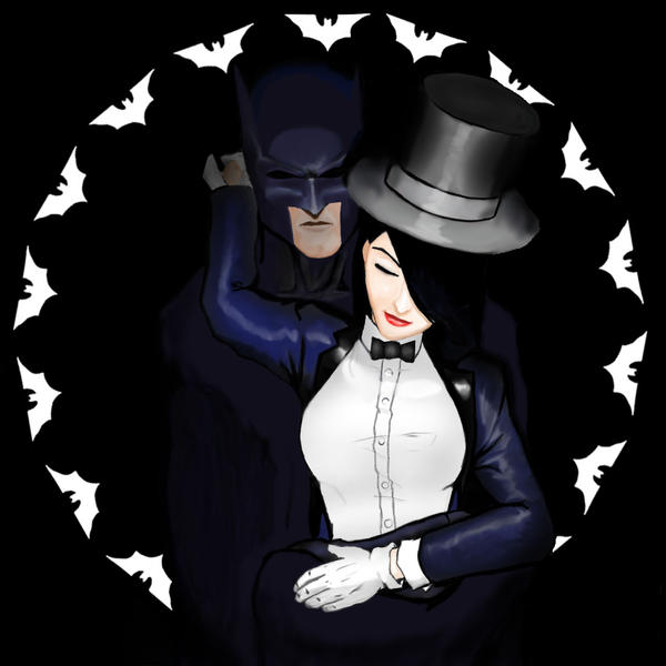Batman_Zatanna revisited by sladeone on DeviantArt