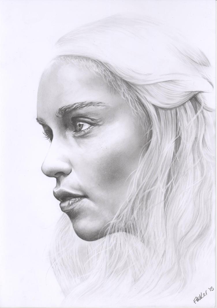 Daenerys Targaryen by fionabird
