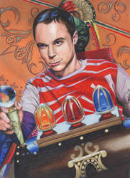Sheldon and The Time Machine