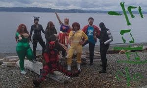 National Cosplay Day Beach Episode by FandomFoodie