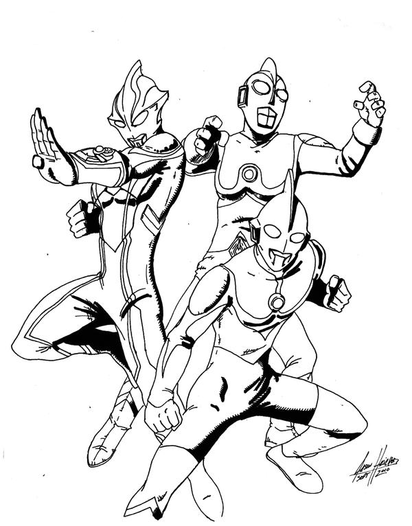 ultraman coloring pages - photo#20